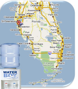 bottled water delivery florida